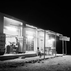 Buraimi Island at night 1963